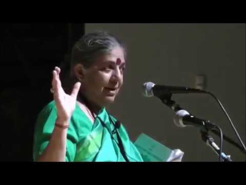 Soil Not Oil Conference: Dr Vandana Shiva's keynote speech