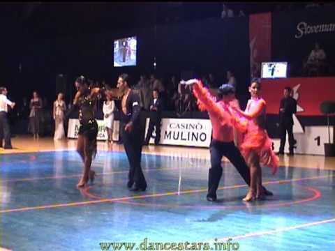 Slovenian open 2006 dancesport senior latin