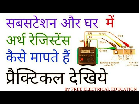How to measure earth resistance value in hindi home substation how to measure earth resistance value in hindi home substation ccuart Gallery