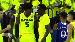 Baylor Basketball (M): Highlights vs Kansas