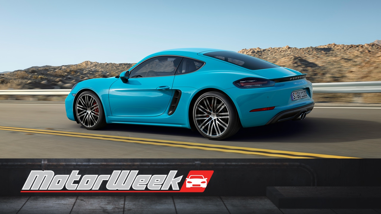 Road Test 2017 Porsche 718 Cayman S Transition Of