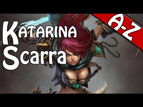 A-Z 71 - CHALLENGER SCARRA KATARINA -Special 3 games in 1 A-Z 192