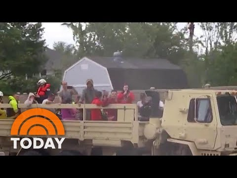Hurricane Harvey: Massive Search And Rescue Operation Underway In Houston | TODAY