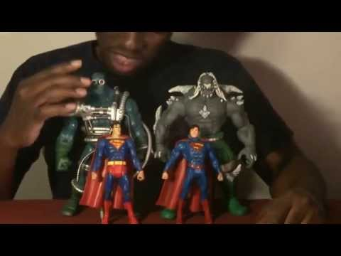 Dc Comics Dcuc Signature Sdcc 2014 Mattycollector Exclusive Containment Suit Doomsday Toy Review Youtube