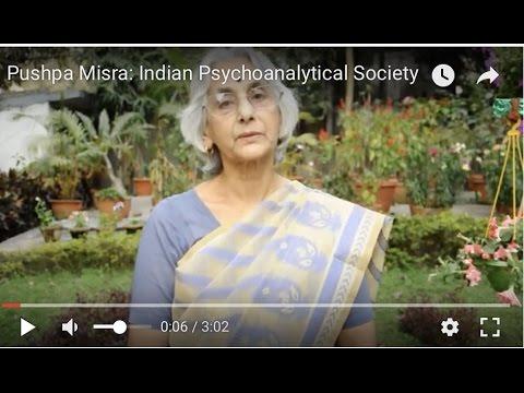 Pushpa Misra: Indian Psychoanalytical Society