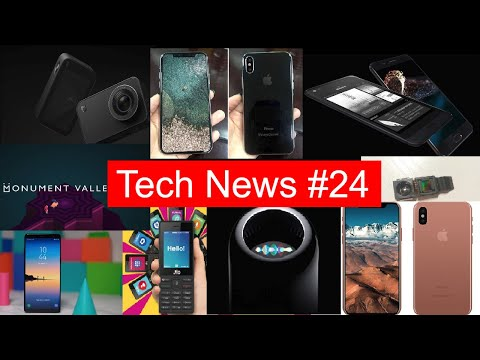Tech News #29 IPhone 8 3D Camera, LG K8, Note 8 Launched, Monument valley 2, Jio Phone