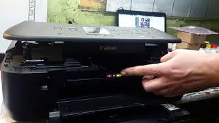 Замена печатающей головки Canon MG 5540 часть 1