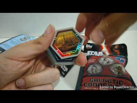 Opening Star Wars Galactic Connexions Series 3 Booster Packs!