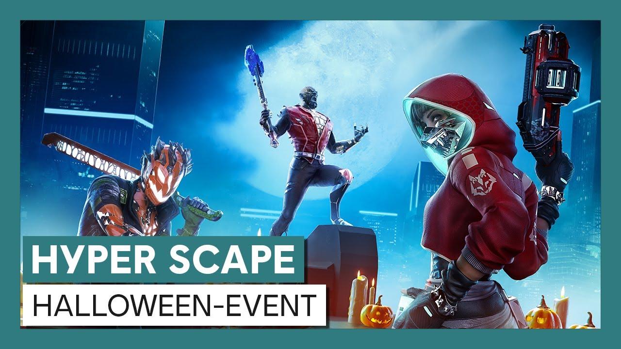 HYPER SCAPE - HALLOWEEN-EVENT | Ubisoft
