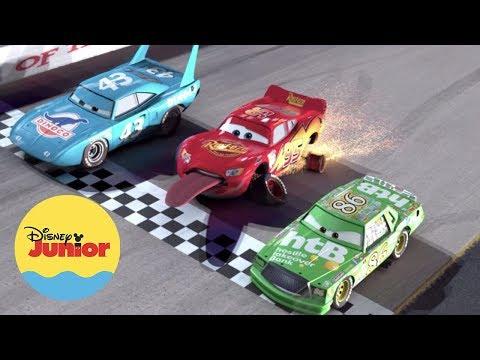 Cars | La Repetición: Triple Empate | Ruedas Superveloces