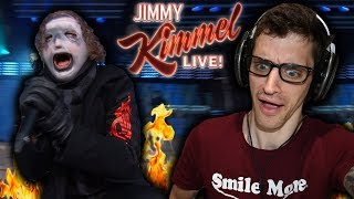 "Hip-Hop Head REACTS to SLIPKNOT: ""Unsainted"" (JIMMY KIMMEL LIVE)"