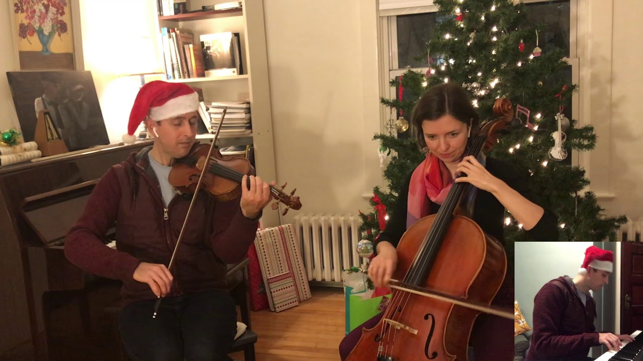 "Brad Reid and Catherine Little perform ""The Christmas Jig"""