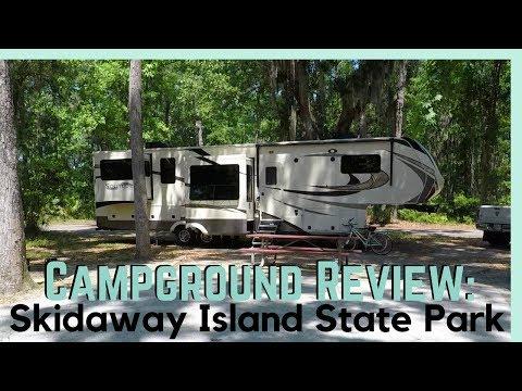 Skidaway Island State Park || RV Park Review || Full Time RV Living