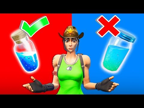 WOULD YOU RATHER In Fortnite!? (Test)