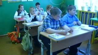 Фрагменты урока литературного чтения в 4 классе