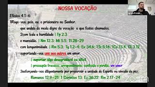 Estudo Bíblico - Efésios 4.1-6 - 19.05/2021