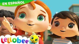 La obra de construcción | Lellobee - Dibujos Animados para niños | Canciones Infantiles