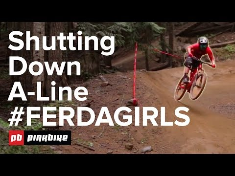 We Ride A-Line, Whistler Bike Park With Over 100 Women!