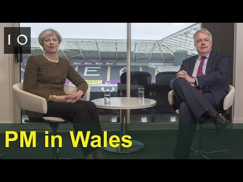 Prime Minister visits Wales and signs Swansea Bay City deal