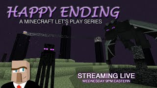 Minecraft HAPPY ENDING #54 Live Stream -- Back to the End!