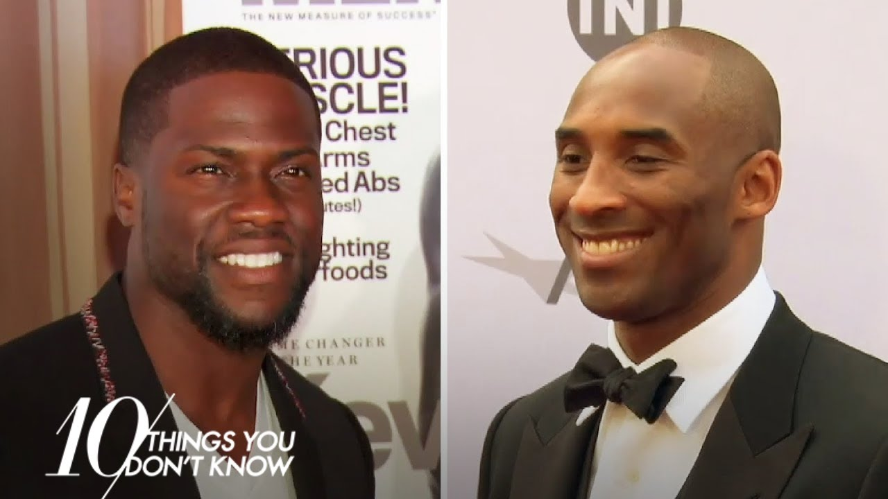 Kevin Hart & Kobe Bryant Went to Basketball Camp Together | 10 Things You Don't Know
