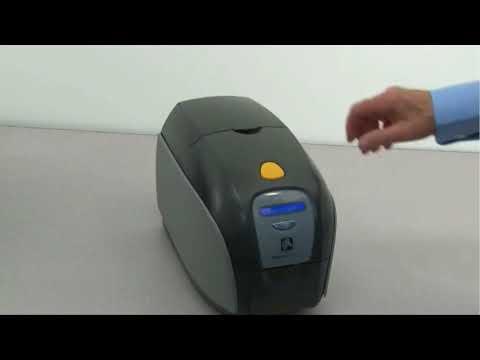 Zebra ZXP  Series 1 - How To Clean Printer
