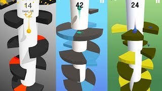 Helix Jump (By Voodoo) | Android Gameplay | Droidnation