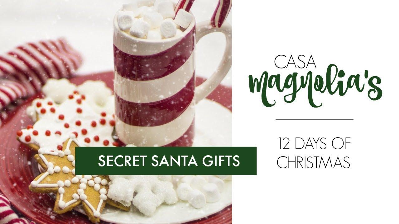 12 Days Of Christmas Gift Ideas.Secret Santa Gift Ideas 12 Days Of Christmas 2017