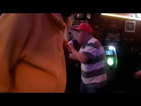 karaoke at establishment