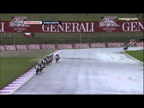 Red Bull MotoGP Rookies Brno Race1 Highlights