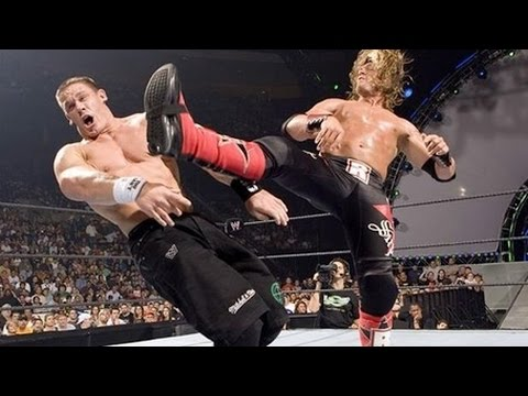 Edge with Lita vs John Cena WWE SummerSlam 2006