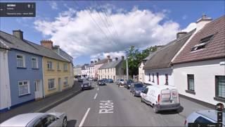 Часть 66.  Город Голуэй.  Part 66.  City Galway.(Картографические данные: Google, DigitalGlobe Map data : Google, DigitalGlobe Видео создано на основе дорожных панорам и Карт Google..., 2016-06-12T15:48:38.000Z)