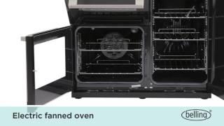 Belling DB4 Cookcentre 90 EI inductie fornuis | De Schouw Witgoed
