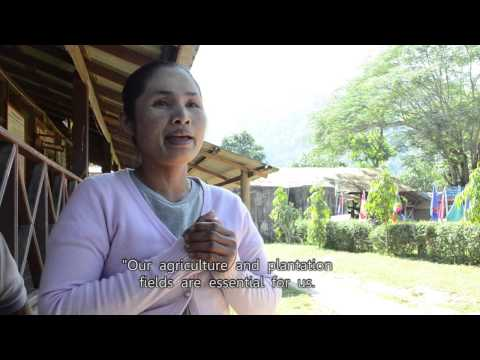 (English-sub) Sob Moei Villagers Call for No Hatgyi Dam