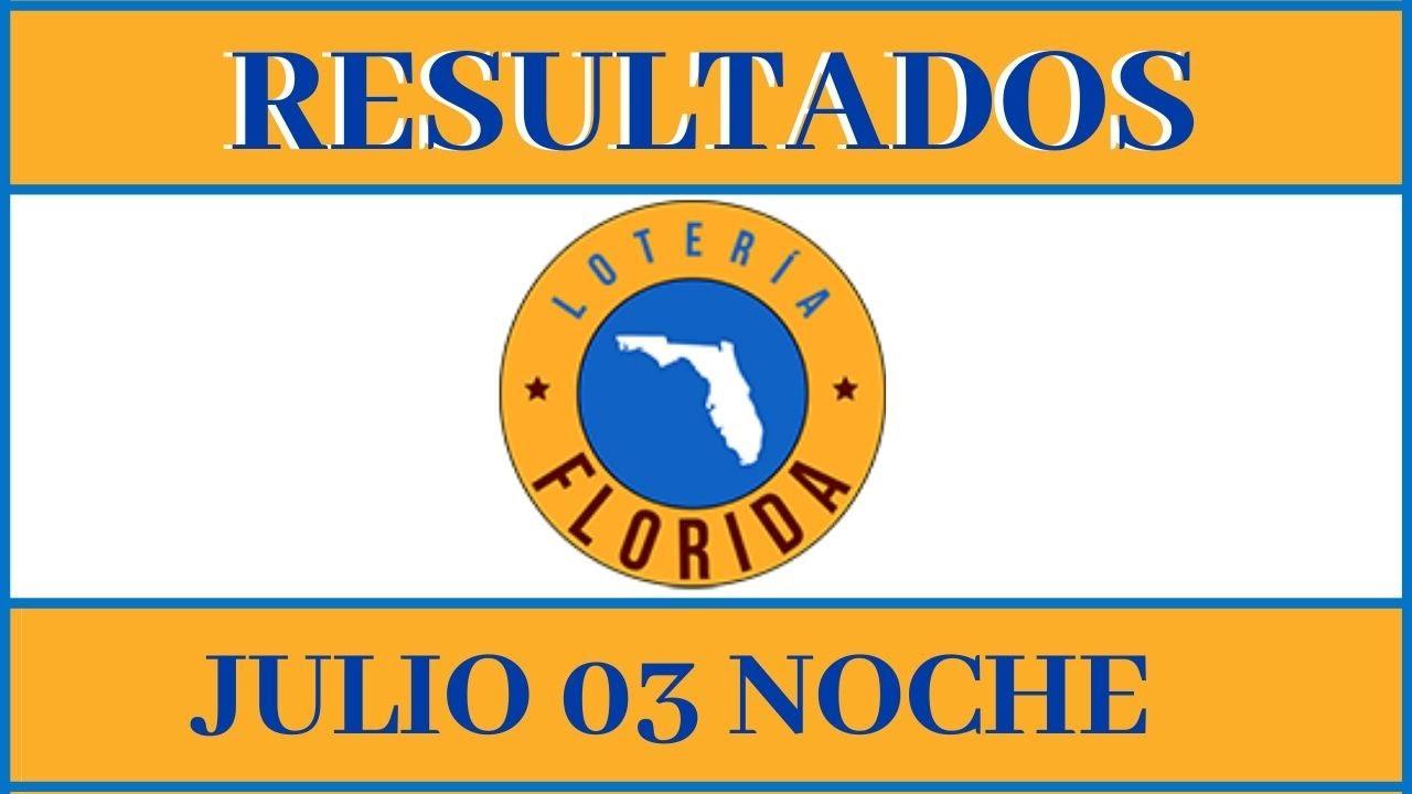 Resultados de la lotería Florida noche de hoy 03 de Julio del 2020