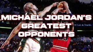 Top 10 teams Michael Jordan's Bulls beat in the NBA playoffs & NBA Finals!!