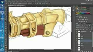 Low Poly Gun 3d Max Step