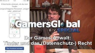 Tinder und der Datenschutz: Games-Anwalt klärt auf