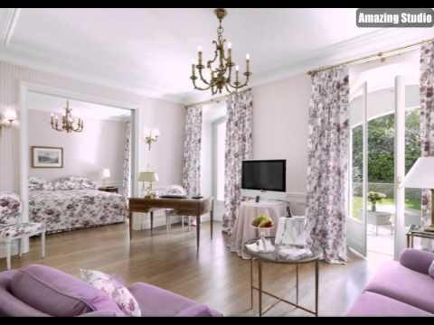 Lila Weiß Schlafzimmer Lounge