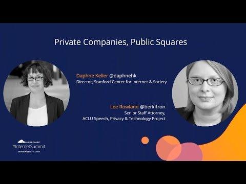 Private Companies, Public Squares
