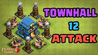 🔴 Town Hall 12 Action + Clan War League
