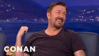 Ricky Gervais On His Scandinavian Comedy Tour - CONAN on TBS