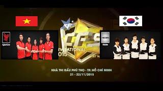 CFSI - Group A - CyberCore vs Hidden (Korea) - Vòng loại Bảng A - Crossfire Stars Invitational 2015