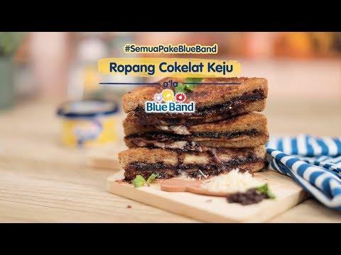 Resep Ropang Cokelat Keju ala Blue Band