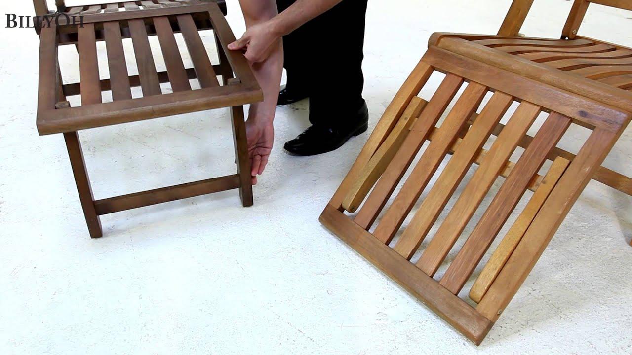 Genial BillyOh Steamer Deck Chair