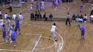 2015年全国社会人バスケットボール選手権準決勝 九州電力VS石川ブルースパークス