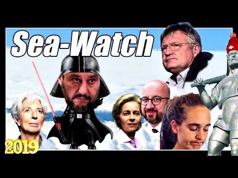 Salvini & Meuthen zu Rackete & Sea Watch   Sea Eye auf Kundenfang