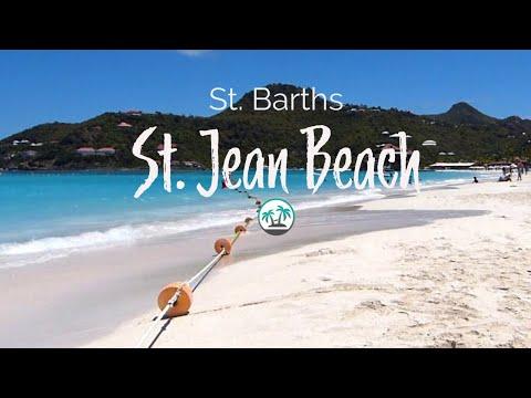 St Jean Beach On Barts Island Lime Video