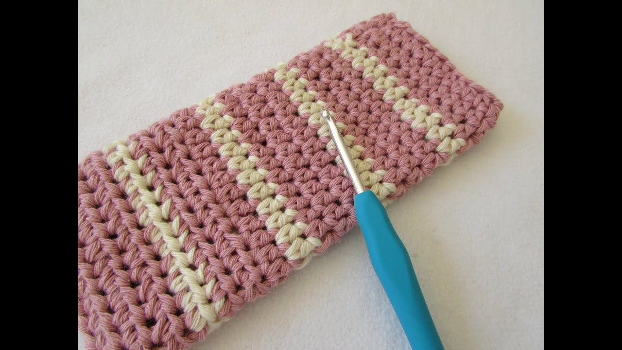 How To Crochet A Simple Glasses Case For Beginners Youtube