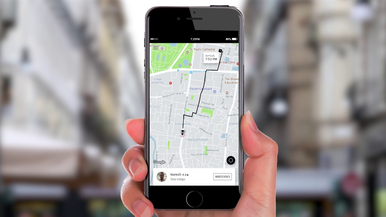 How to change drop off location while on Uber trip ?